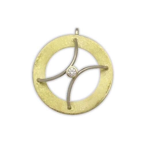 Cerchio Ciondolo Diamante